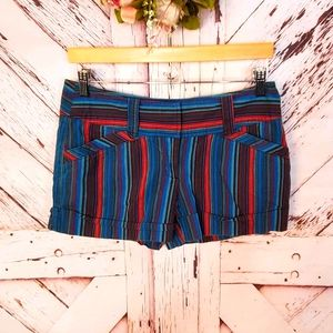 Wet Seal Striped Booty Shorts 9